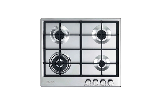Elba Stainless Steel Built-In-Gas Hob