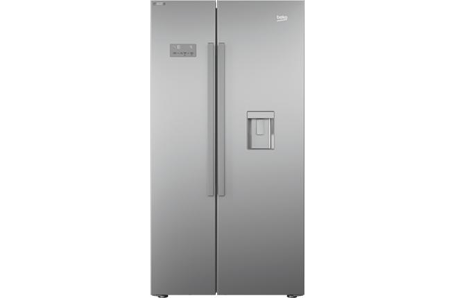 SBS Refrigerator Silver