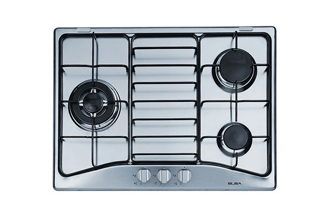 Elba 70CM 3-Burner Built-In Gas Hob