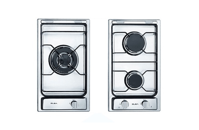 Elba 30cm Stainless Steel Electric Ignition Gas Hobs